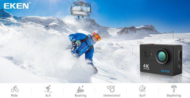 Recensione completa e guida all'acquisto della EKEN H9s 4K Action Camera Wifi Impermeabile Camera Sportiva