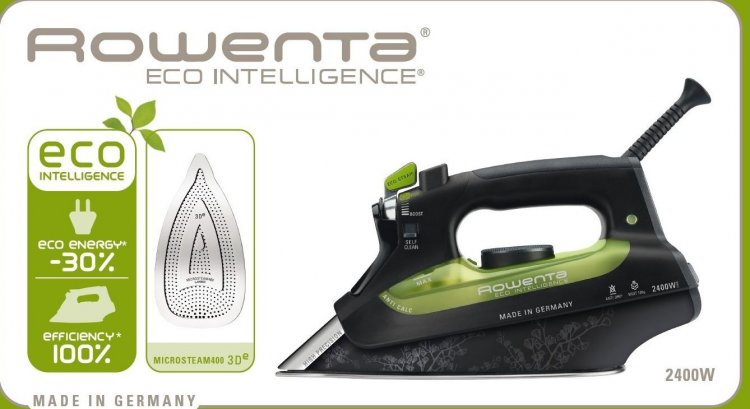 Rowenta DW6010 Eco Intelligence Ferro a Vapore con Piastra Microsteam recensione