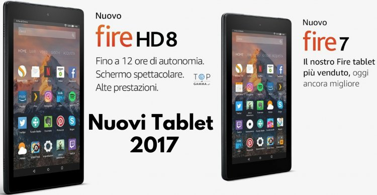 Tablet Fire HD 8 Amazon prezzo e opinioni