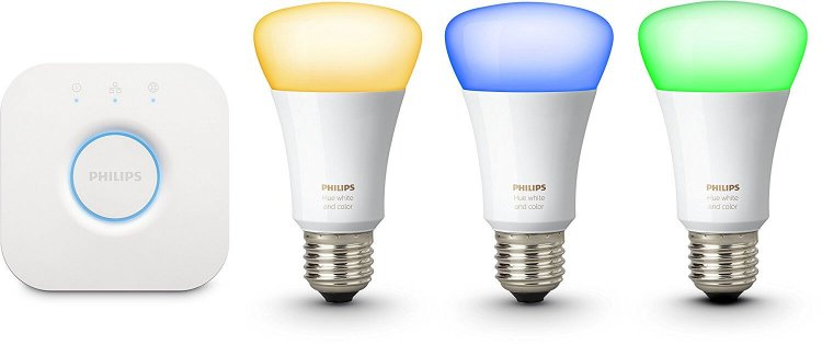 Philips Hue White and Color Ambiance Starter Kit con 3 Lampadine E27 Recensione, Opinioni, dove acquistarle