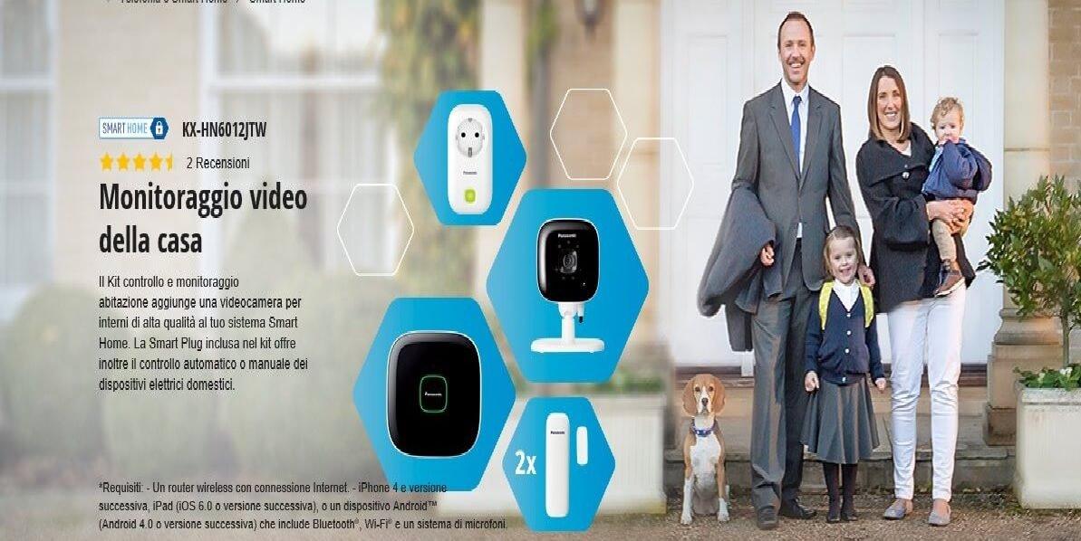 Panasonic Smart Home KX Kit per domotica Offerte, Opinioni, Recensione