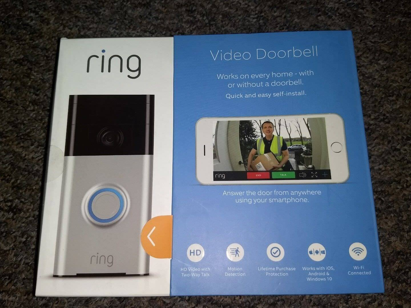 Ring Video Doorbell – video 720p HD Offerte, Opinioni, Recensione