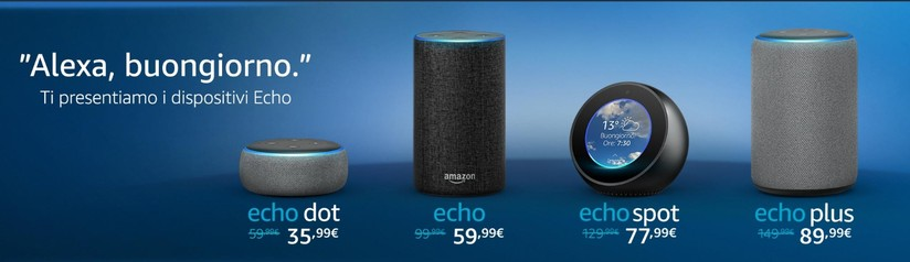 Elenco Prodotti Compatibili con Alexa e Amazon Echo