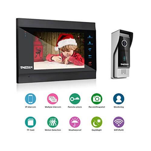 TMEZON Wifi/Wireless Intelligent IP Video Citofono: Offerte, Opinioni, Recensione