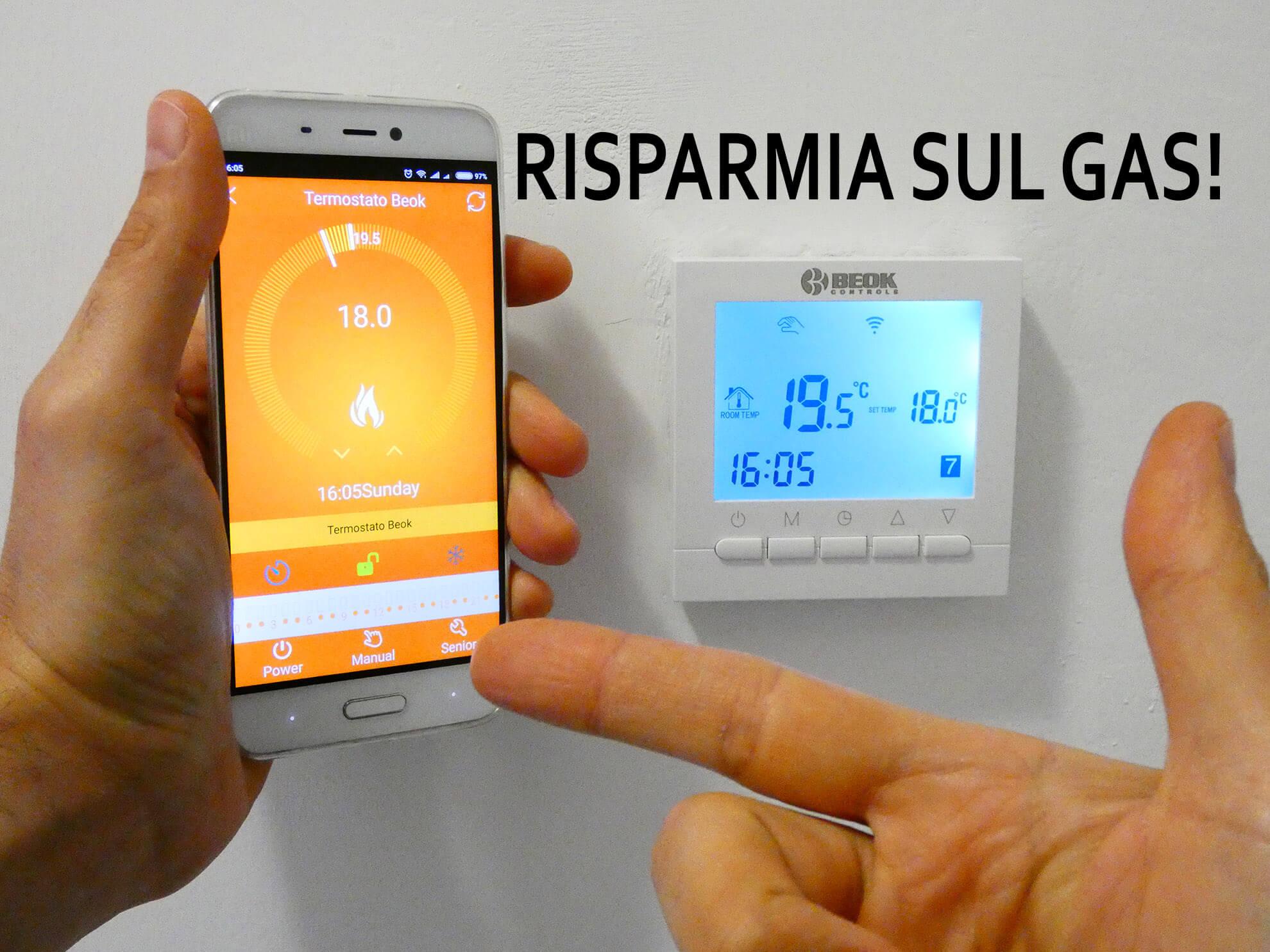 Beok BOT-313 Wi-Fi per caldaia a gas: Offerte, Opinioni, Recensione