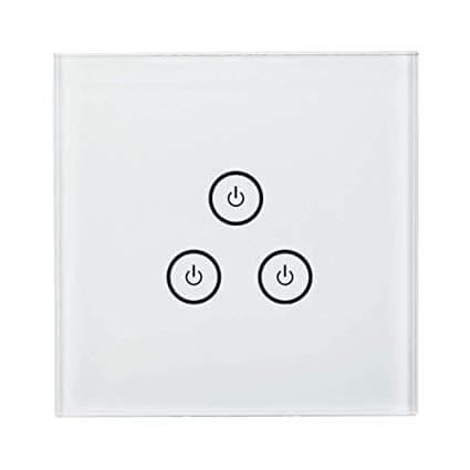 Interruttore da parete Smart in vetro temperato con controllo touch e wireless da remoto: Offerte, Opinioni, Recensione