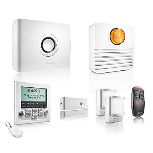 somfy protect home alarm 2401497 kit antifurto wifi. Black Bedroom Furniture Sets. Home Design Ideas